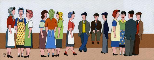 'Flirtin' With' Mill Girls'